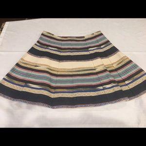 Anthropologie flippy skirt